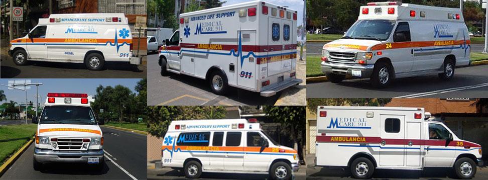 Ambulancias en Mexico