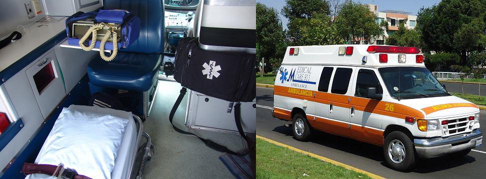 Traslado en ambulancia terrestre